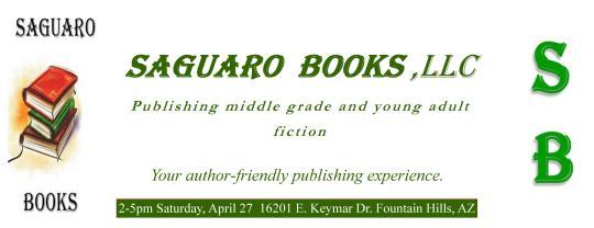 GRAND OPENING--SAGUARO BOOKS
