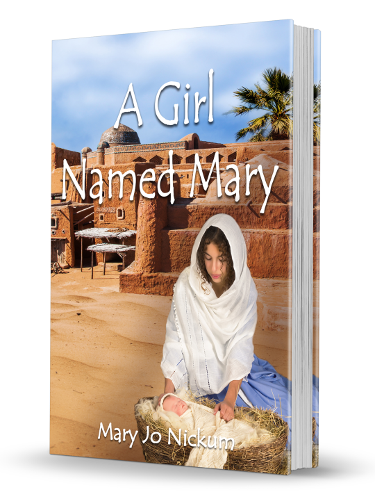 A Girl Named Mary 3D Book Cover-1