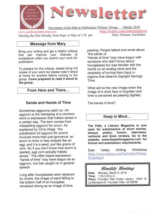 Newsletter022518